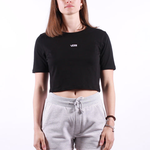 Vans - Wm Flying V Crop Crew - Black