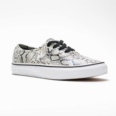 Vans - Authentic - Snake Marshmallow Black