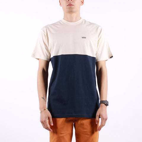 Vans - Mn Colorblock Tee - Dress Blue Cream