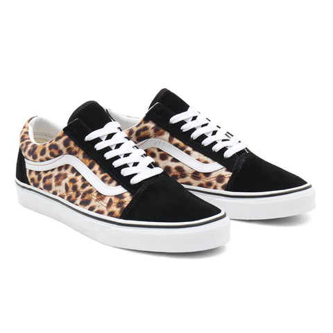 Vans - Old Skool - Leopard Black True White