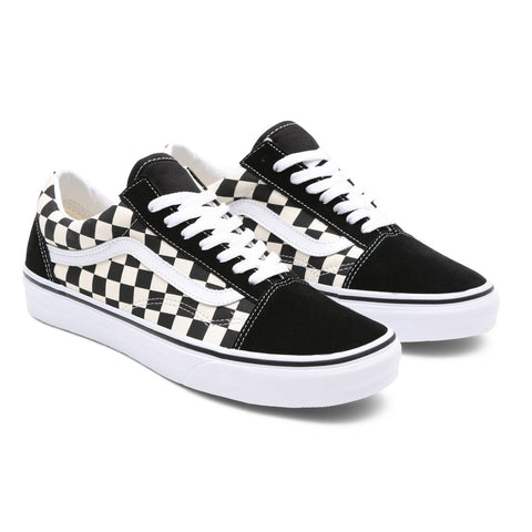 Vans - Old Skool - Primary Check Black White