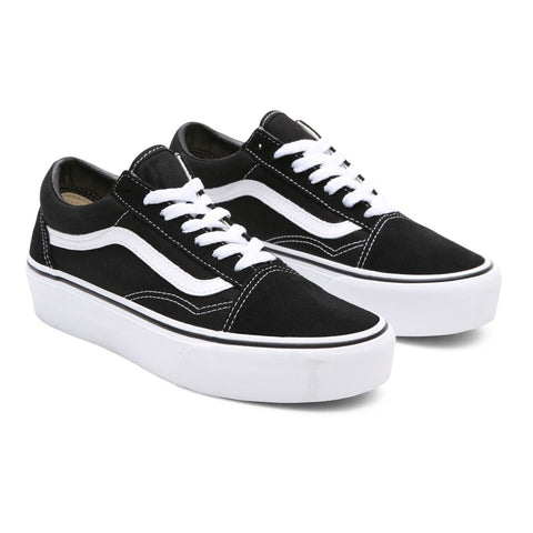 Vans - Old Skool Platfor - Black White