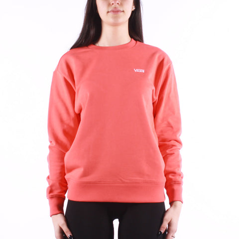 Vans - Wm Flying Crew Neck - Hot Coral