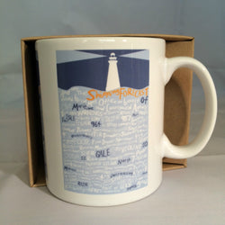 Mug ~ And Now The Shipping Forecast Issued By…. wonderful maritime design