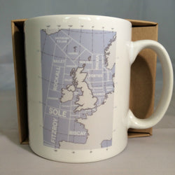 Mug ~ Shipping Forecast Regions iconic design