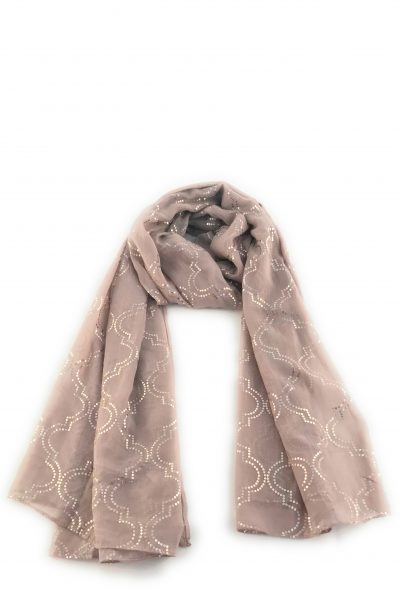 Scarf ~ Zelly Fawn silk mix
