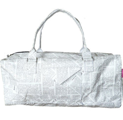Bag ~ Holdall Journal design bags - waterproof but looks and feels like paper