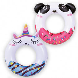 Inflatable - 837595 Animal doughnut Swim Ring 55cm (21.5