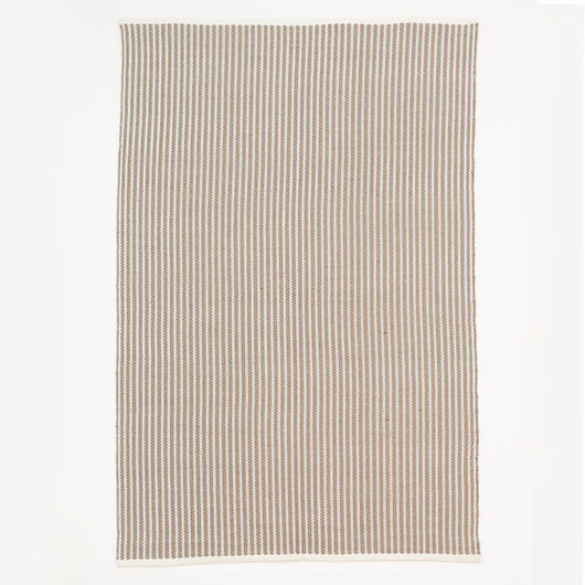 Rug ~ Weaver Green Brighton Stripe - Monsoon - 110 x 60cm & 150 x 90cm