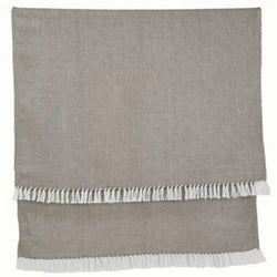 Blanket throw ~ Diamond - Monsoon - classic style and colour made from plastic bottles