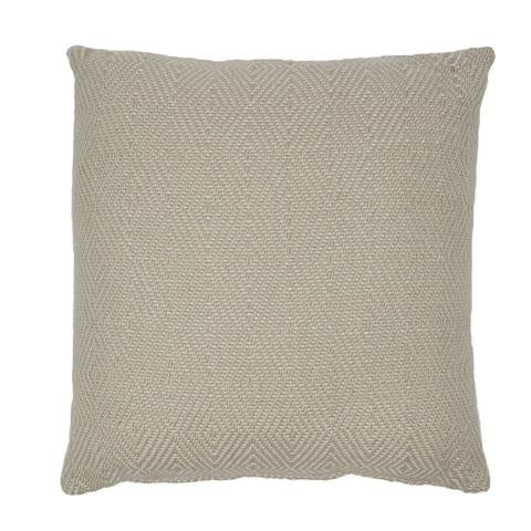 Diamond cushion - Linen - 45x45cm neutral classic colour ethically produced