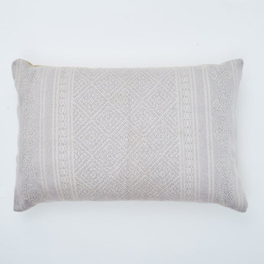 Cushion ~ Weaver Green Kalkan Shell cushion 100% recycled 60 x 40cm