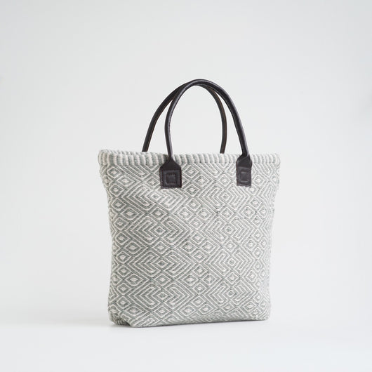 Bag ~ Provence range - Dove Grey - eco-friendly shopper