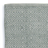 Close up Rug ~ Diamond range ~ Dove Grey ~ Weaver Green 100% recycled