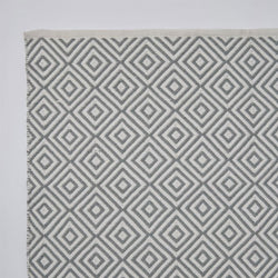 Close up Rug ~ Oslo range ~ Dove Grey ~ Weaver Green 100% recycled