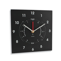 Time & Tide clock  ~ RTCC Slate look made from recycled paper packaging