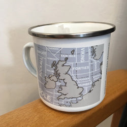 Enamel Mug ~ Shipping Forecast Regions