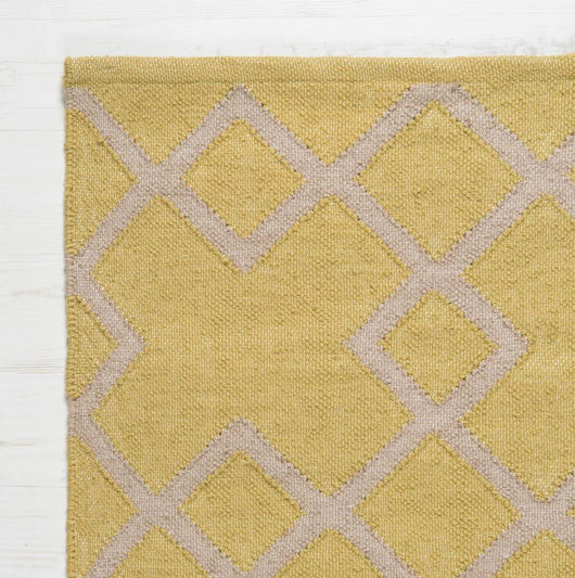 Close up Rug ~ Juno range ~ Gooseberry ~ Weaver Green 100% recycled