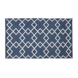 Rug ~ Juno range ~ Navy ~ Weaver Green 100% recycled