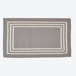 Rug ~ Maxime range ~ Grey/Linen ~ Weaver Green 100% recycled