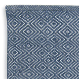 Close up Rug ~ Diamond range ~ Navy ~ Weaver Green 100% recycled