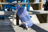 Towel & drawstring bag ~ Hamam lightweight and compact pestemal