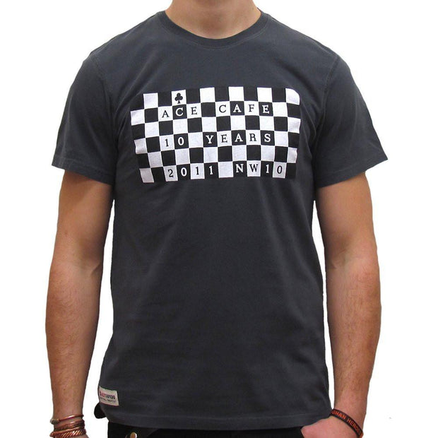 Chequerboard Ace Cafe London (Mens) T-Shirt