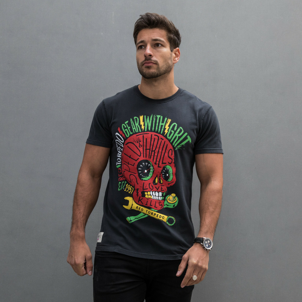 Rasta Punk (Mens) T-Shirt