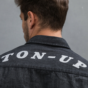 Ton Up Clothing (Mens) L/S Shirt Black Denim