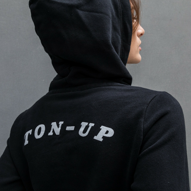 Ton Up Clothing Burnin Rubber (Ladies) Hoodie