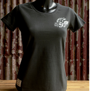 Daytona Bike Week 'Beach Hog' (Ladies) Black T-Shirt