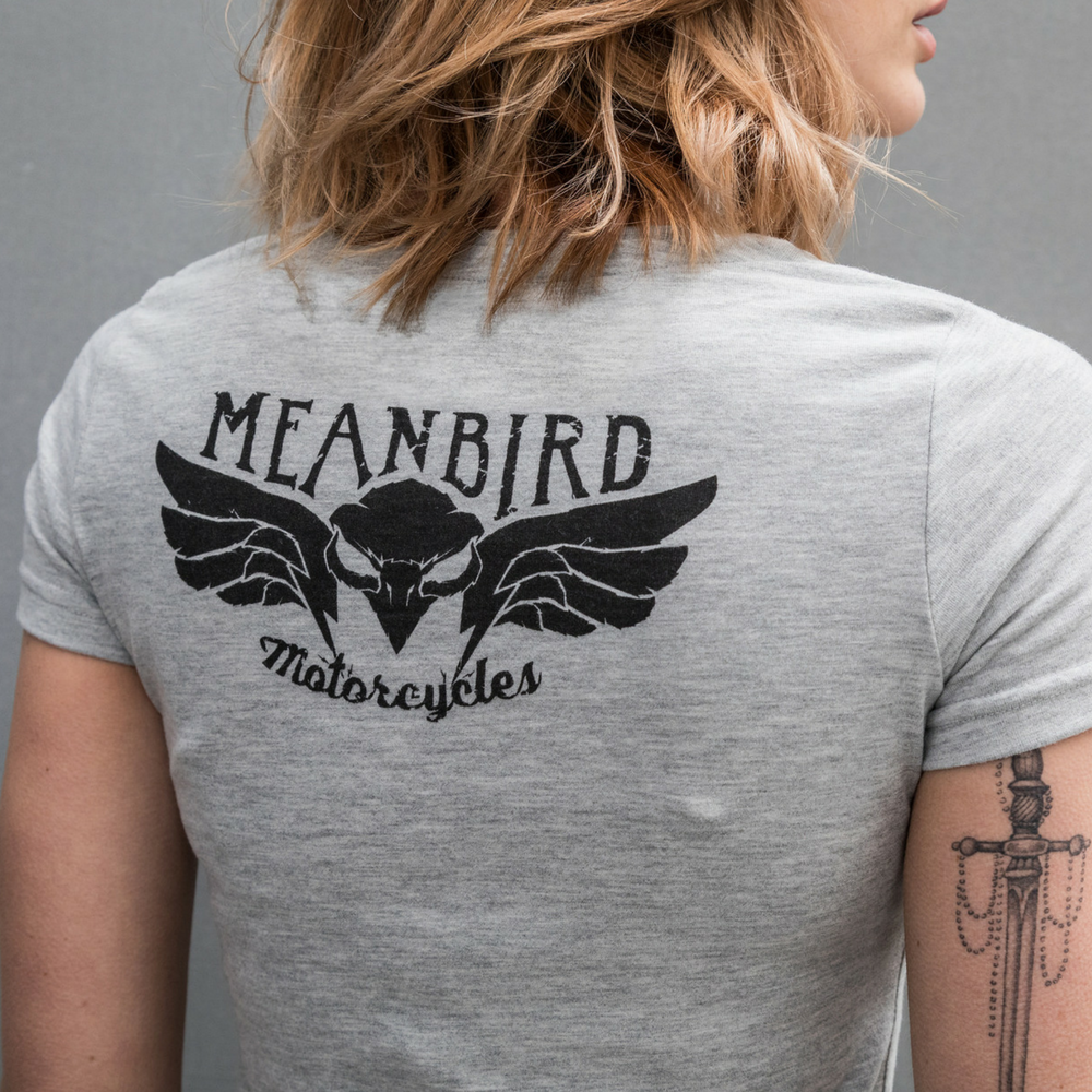 Mean Bird Motorcycles ROAR (Ladies) T-Shirt