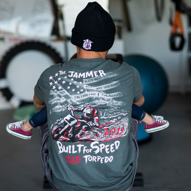 Jared Mees 'Built for Speed' (Womens) T-Shirt