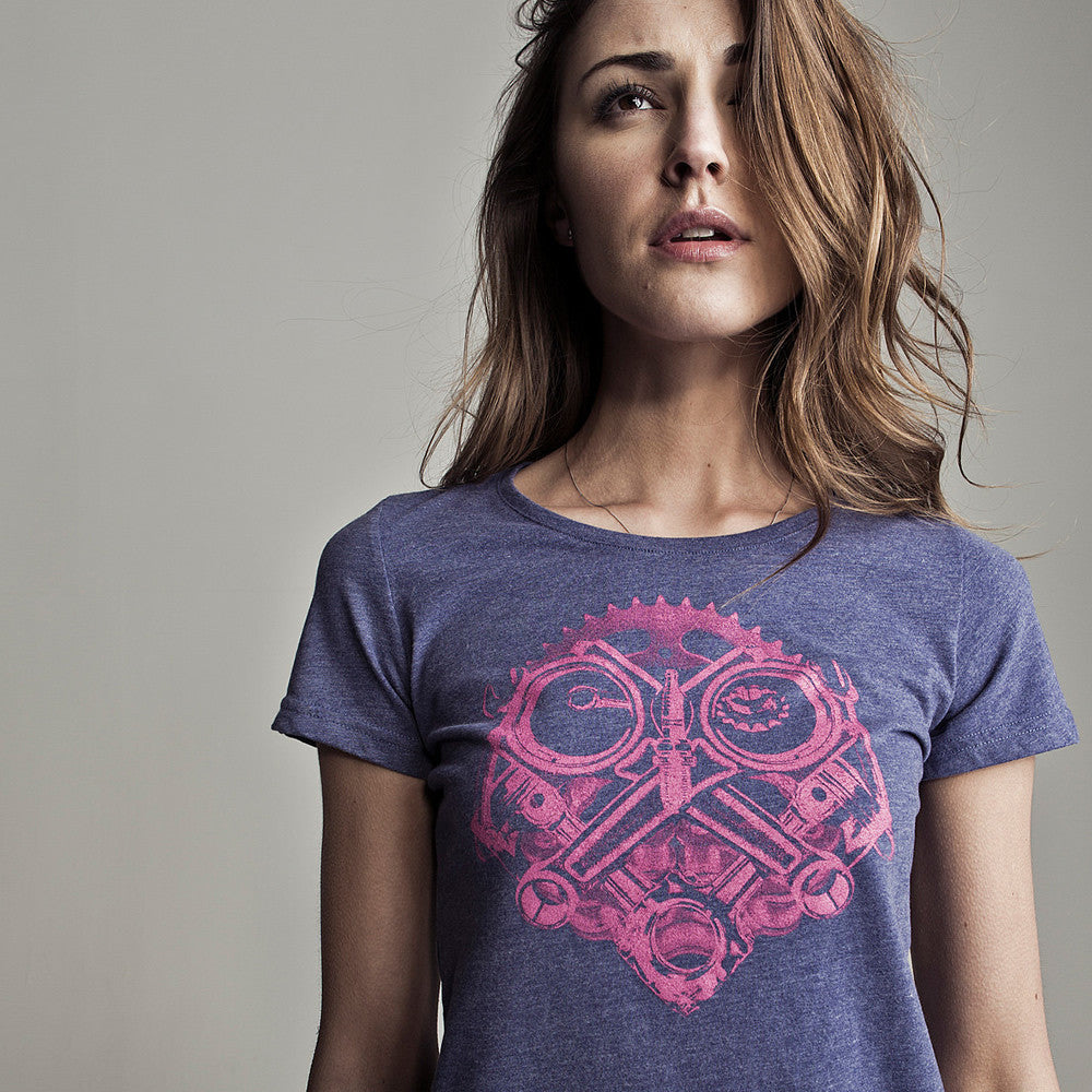 Petrolhead (Ladies) T-Shirt