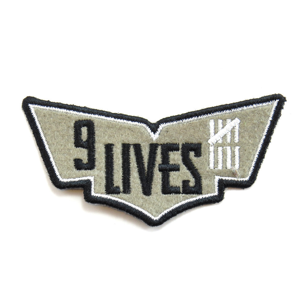 Red Torpedo Nine Lives Patch
