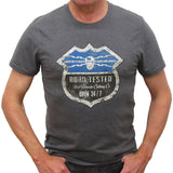 Road Tested 2015 T-Shirt Graphite