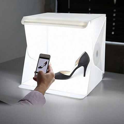 InstaStudio™ Portable LED Table-Top Photography Box