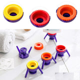 6pcs Empty-It Bottle Cap Stand Kit