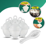 Hard Boiled Egg Cooker Set 6PCS