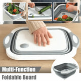 Foldable Over the Sink Cutting Board