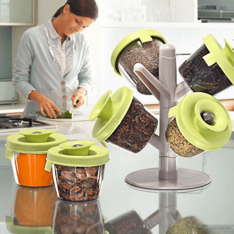 Pop-Up Spice Rack