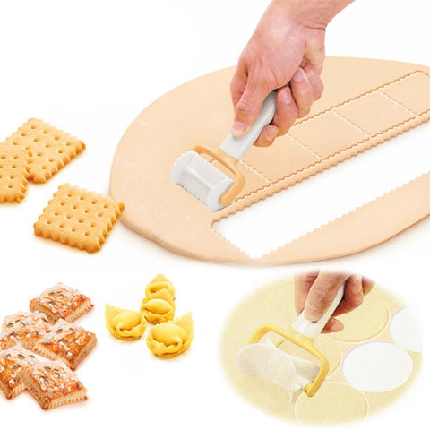 Rolling Pastry Cutter Set 3PCS