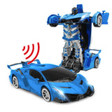 Transforming RC Robot Car