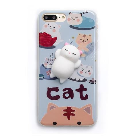 Sleepy Cat iPhone Case