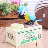 Chirpy Parrot Coin Bank