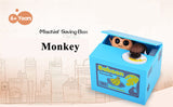 Adorable Animal Friends Coin Bank