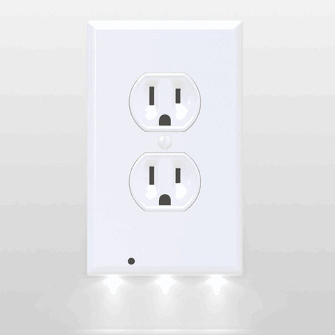 Illuminite™ Lighted Wall-Outlet Coverplate