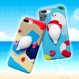 Squishy Seal iPhone Case