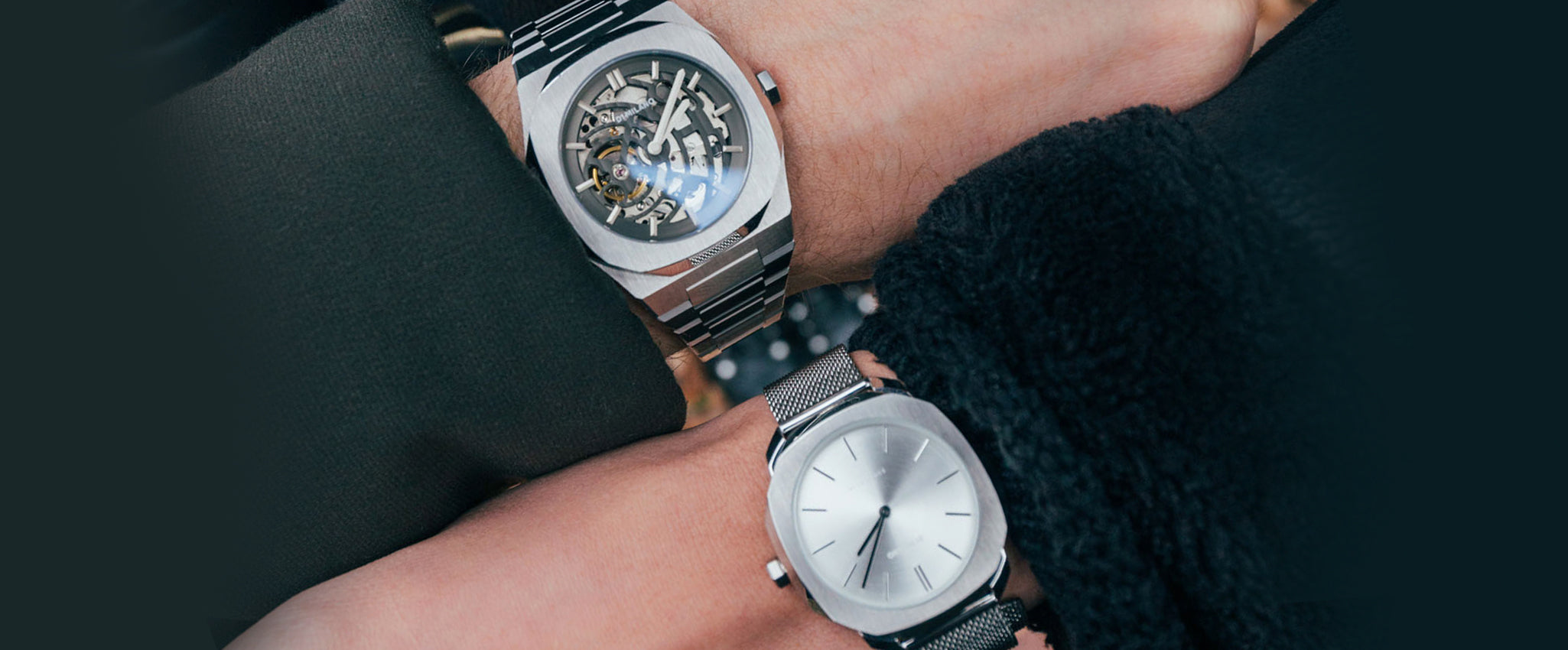 Couple watch D1 Milano