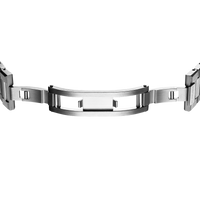 Ultra Thin Bracelet 38 mm - Silver